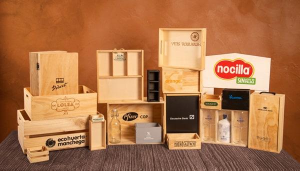 Especialistas en la fabricación de cajas de madera